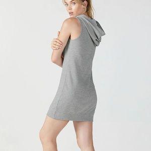 Hoodie Sweatshirt Dress 1X Gray